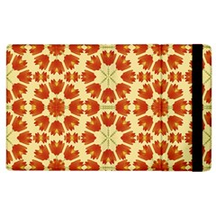 Colorful Floral Print Vector Style Apple Ipad 3/4 Flip Case