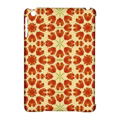 Colorful Floral Print Vector Style Apple Ipad Mini Hardshell Case (compatible With Smart Cover)