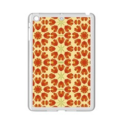 Colorful Floral Print Vector Style Apple Ipad Mini 2 Case (white)
