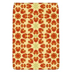 Colorful Floral Print Vector Style Removable Flap Cover (large)