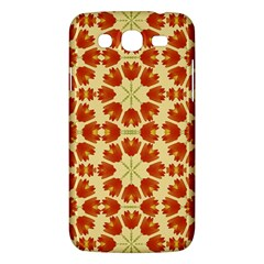Colorful Floral Print Vector Style Samsung Galaxy Mega 5 8 I9152 Hardshell Case