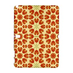 Colorful Floral Print Vector Style Samsung Galaxy Note 10.1 (P600) Hardshell Case