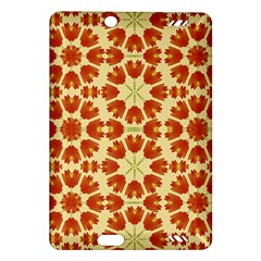 Colorful Floral Print Vector Style Kindle Fire Hd (2013) Hardshell Case