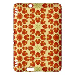 Colorful Floral Print Vector Style Kindle Fire HDX Hardshell Case