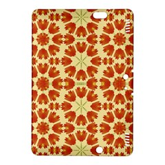 Colorful Floral Print Vector Style Kindle Fire Hdx 8 9  Hardshell Case