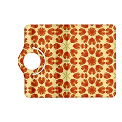 Colorful Floral Print Vector Style Kindle Fire HD (2013) Flip 360 Case