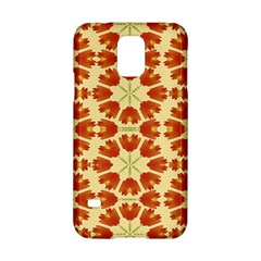 Colorful Floral Print Vector Style Samsung Galaxy S5 Hardshell Case