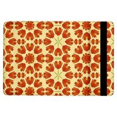 Colorful Floral Print Vector Style Apple iPad Air Flip Case
