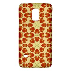 Colorful Floral Print Vector Style Samsung Galaxy S5 Mini Hardshell Case