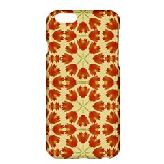 Colorful Floral Print Vector Style Apple Iphone 6 Plus Hardshell Case