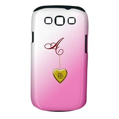 A Golden Rose Heart Locket Samsung Galaxy S Iii Classic Hardshell Case (pc+silicone)