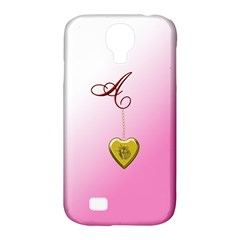 A Golden Rose Heart Locket Samsung Galaxy S4 Classic Hardshell Case (pc+silicone)