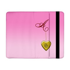 A Golden Rose Heart Locket Samsung Galaxy Tab Pro 8.4  Flip Case