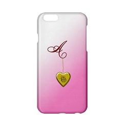 A Golden Rose Heart Locket Apple Iphone 6 Hardshell Case