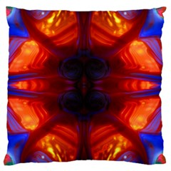 Meadow By Saprillika Large Flano Cushion Case (two Sides)