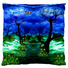 element song 2:9 by saprillika Large Flano Cushion Case (Two Sides)