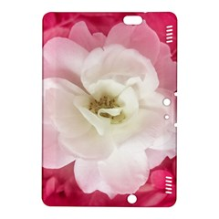 White Rose with Pink Leaves Around  Kindle Fire HDX 8.9  Hardshell Case