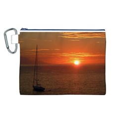 Good Night Mexico Canvas Cosmetic Bag (Large)