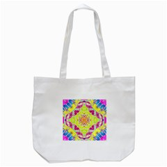 Crazy Animal Print  Tote Bag (white)
