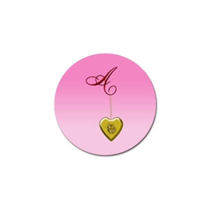 A Golden Rose Heart Locket Golf Ball Marker (10 pack)