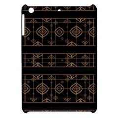 Dark Geometric Abstract Pattern Apple Ipad Mini Hardshell Case