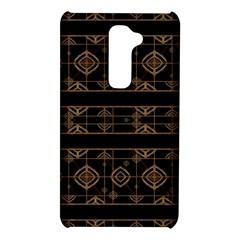 Dark Geometric Abstract Pattern LG G2 Hardshell Case