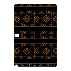 Dark Geometric Abstract Pattern Samsung Galaxy Tab Pro 10 1 Hardshell Case