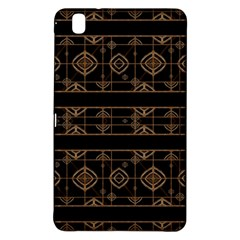 Dark Geometric Abstract Pattern Samsung Galaxy Tab Pro 8 4 Hardshell Case