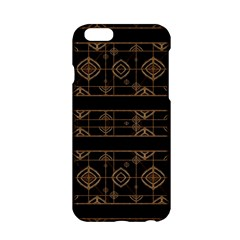 Dark Geometric Abstract Pattern Apple Iphone 6 Hardshell Case