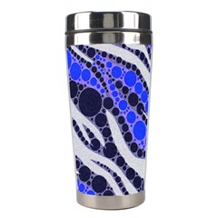 Blue Zebra Bling  Stainless Steel Travel Tumbler