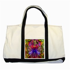Journey Home Two Toned Tote Bag