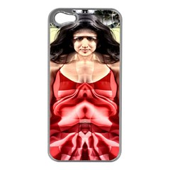 Cubist Woman Apple Iphone 5 Case (silver)