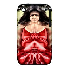 Cubist Woman Apple Iphone 3g/3gs Hardshell Case (pc+silicone)