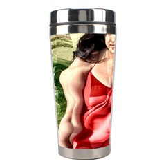 Cubist Woman Stainless Steel Travel Tumbler