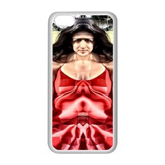 Cubist Woman Apple Iphone 5c Seamless Case (white)