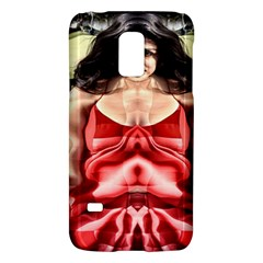 Cubist Woman Samsung Galaxy S5 Mini Hardshell Case