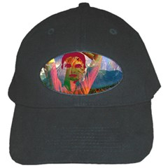 Fusion With The Landscape Black Baseball Cap