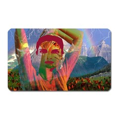 Fusion With The Landscape Magnet (rectangular)