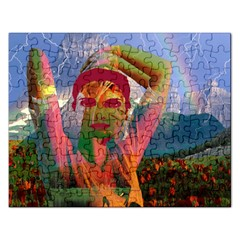 Fusion With The Landscape Jigsaw Puzzle (rectangle)