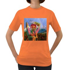 Fusion With The Landscape Women s T Shirt (colored)