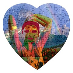Fusion With The Landscape Jigsaw Puzzle (heart)