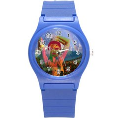 Fusion With The Landscape Plastic Sport Watch (small)