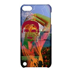 Fusion With The Landscape Apple Ipod Touch 5 Hardshell Case With Stand
