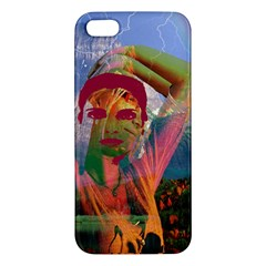 Fusion With The Landscape Apple Iphone 5 Premium Hardshell Case