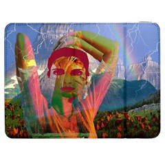 Fusion With The Landscape Samsung Galaxy Tab 7  P1000 Flip Case
