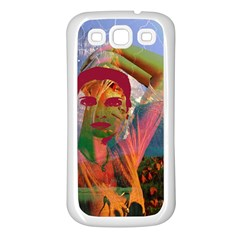 Fusion With The Landscape Samsung Galaxy S3 Back Case (white)