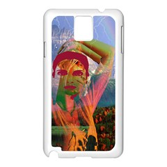 Fusion With The Landscape Samsung Galaxy Note 3 N9005 Case (White)