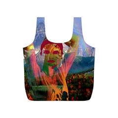 Fusion With The Landscape Reusable Bag (S)