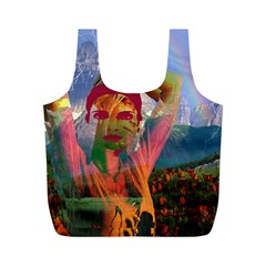 Fusion With The Landscape Reusable Bag (M)