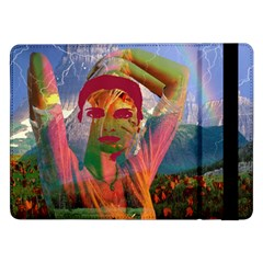 Fusion With The Landscape Samsung Galaxy Tab Pro 12 2  Flip Case